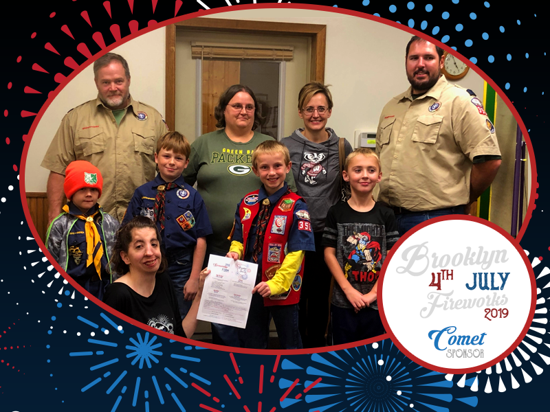 Comet – Brooklyn Cub Scouts Pack 352