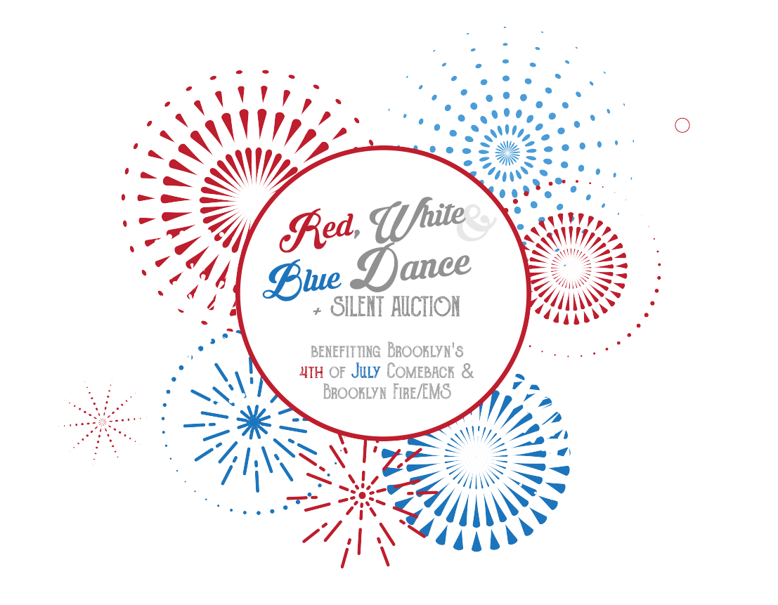 Red, White & Blue Dance + Silent Auction